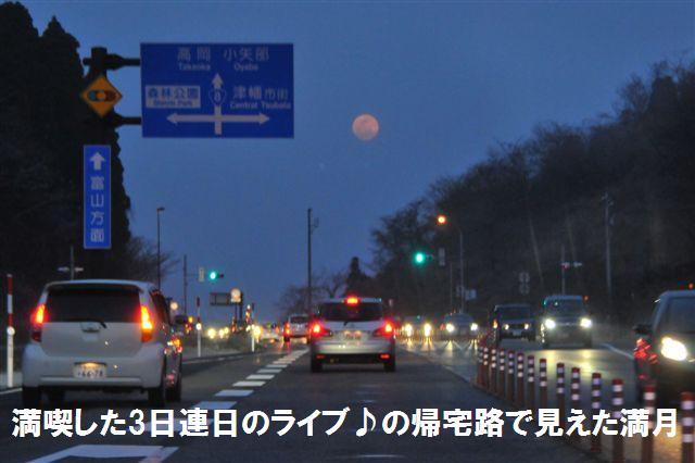 3連日3ライブ♪ の帰宅路 (1)