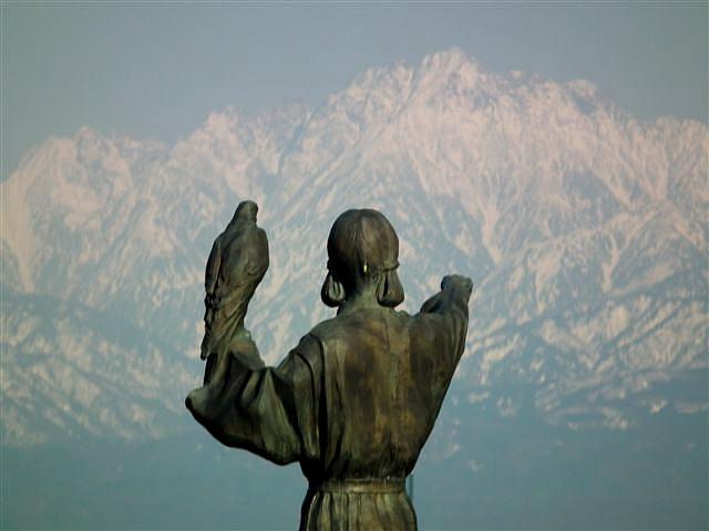 3月24日 立山連峰 (1)
