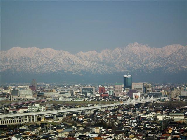 3月24日 立山連峰 (2)