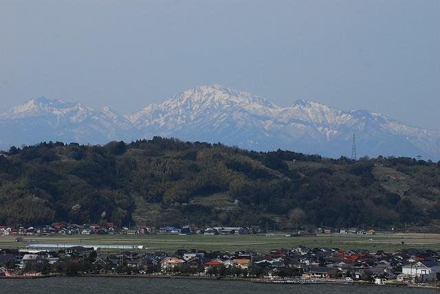 出雲山天望台から見る裏大山1