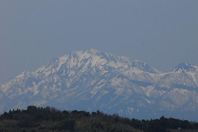 出雲山天望台から見る裏大山1-2