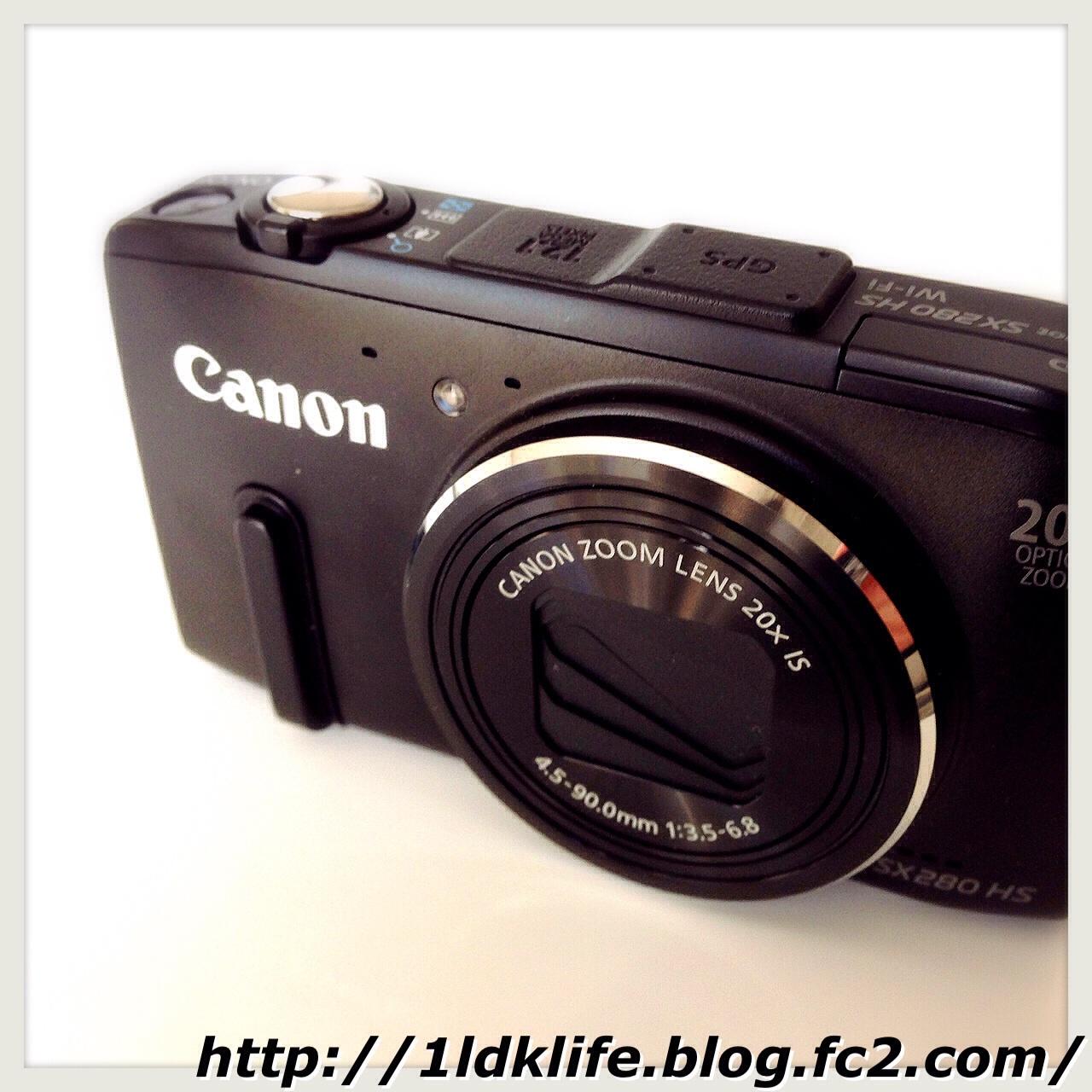 愛機。キヤノン PowerShot SX280 HS。