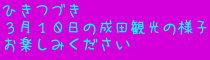 成田 2014.3/10