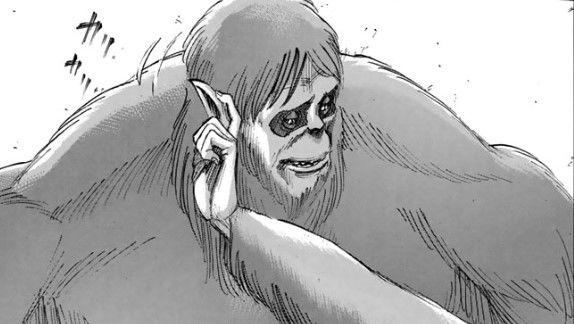 【ネタバレ】進撃の巨人 55話 猿巨人の中身キタ—(●∀●)— !!