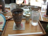 9/30 コーヒー豆ショップのアイスコーヒー