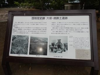 8/24 国指定 大塚・歳勝土遺跡の詳細