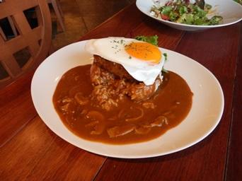 8/24 ロコモコ  Muu Muu Diner