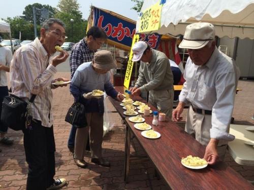 2014-05-25ニセアカシア天ぷら2