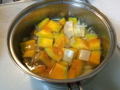 2014-10-04バターナッツスープ