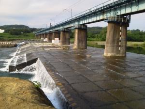 本日の橋梁下20140627
