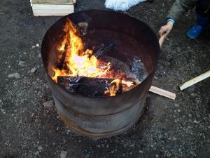 火のごちそう