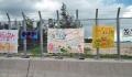 03辺野古漁港のキャンプシュワブのフェンス