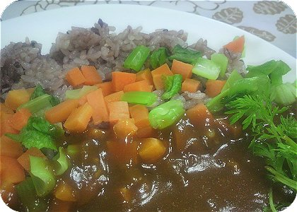 3-3黒雑穀米カレー