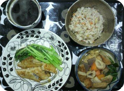3-7魚と煮物