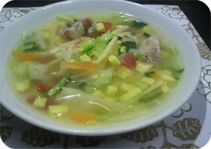 3-25竹の子スープ