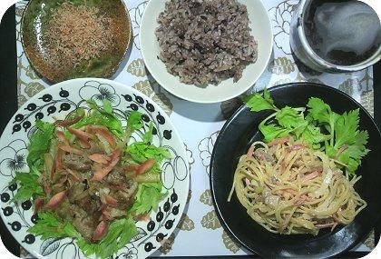 3-30セロリ料理1