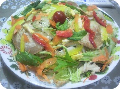 5-24焼き豚冷やし中華麺2