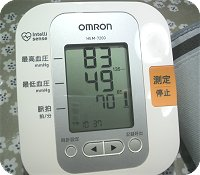 5-28今朝の血圧