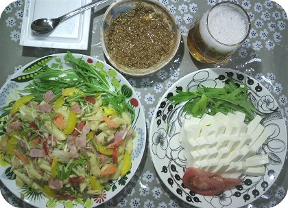 5-28豆腐と叉ペンネ