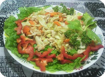 6-13適当野菜炒め2