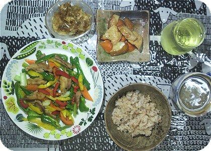 6-17鶏肉と野菜の胡椒炒め2
