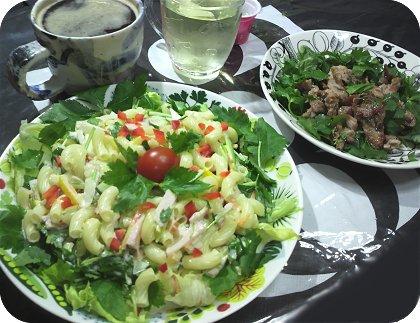 8-5 マカロニサラダが主役 というか主食