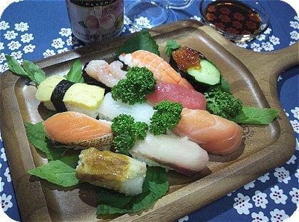 9-5 ケヴンハウンで御寿司