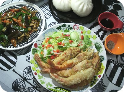 9-17中華風に北欧食器