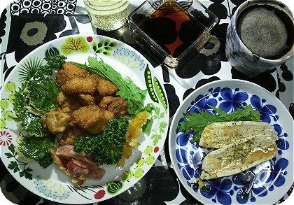 9-229-22から揚げとお豆腐ハンバーグ