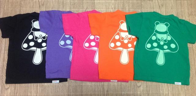 パンダキノコTシャツ2