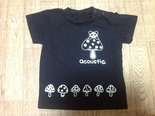 パンダキノコTシャツ3