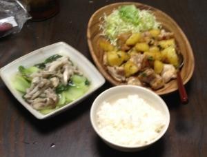今日の飯。