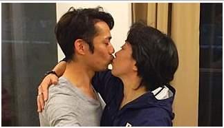 橋本聖子 キス2