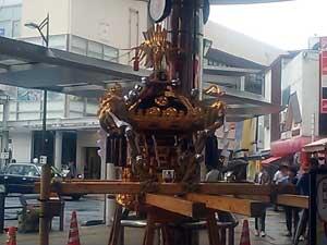武蔵小山のお神輿