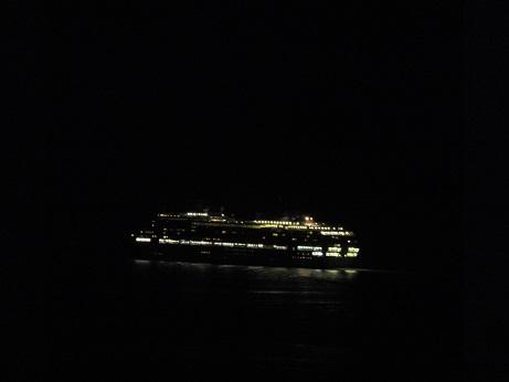 夜の祝津公園1
