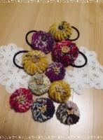 コイル編み ヘアゴム1014