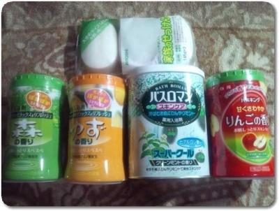 ケンコーコム入浴剤と石鹸1