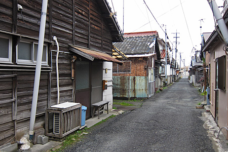 忠隈炭鉱の住宅02
