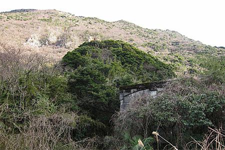 浅野セメント呼野採掘場と引き込み線02