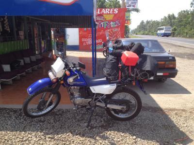 ニカラグア バイク ティエンダ