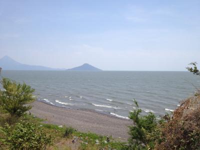 ニカラグア マナグア湖 ツーリング