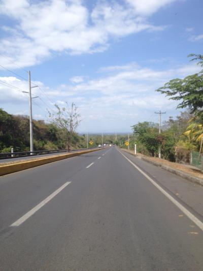ニカラグア マナグア 道路 ハイウェー