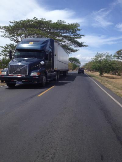 ニカラグア 道路 ブログ