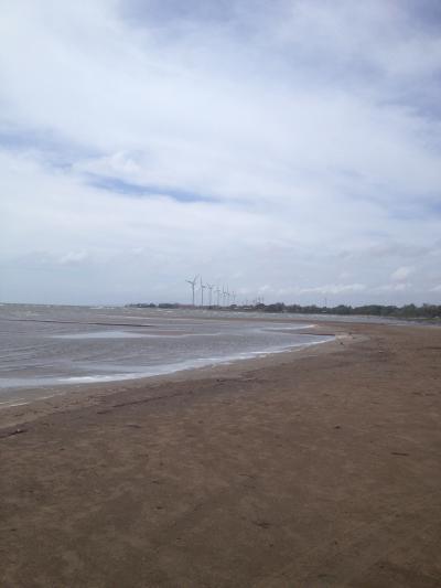 ニカラグア 湖 ツーリング 風力発電