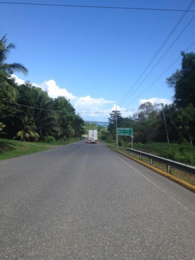 コスタリカ 道路 ツーリング