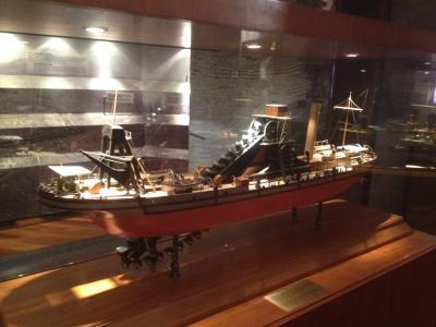 パナマ 運河 浚渫船 模型