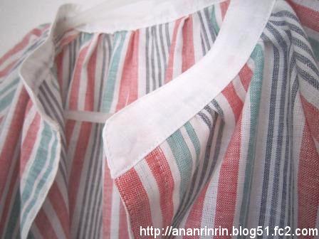 綿麻シャツ2