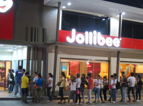 jollibee atm line