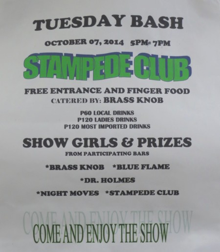 tuesday bash stampede
