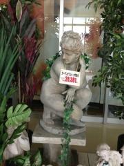 わらしの銅像